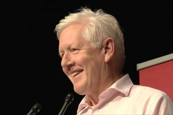 Video still of Bob Rae at The Walrus Talks Aboriginal City