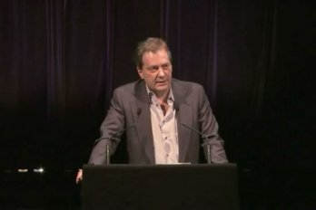 Video still of Noah Richler from The Walrus Talks The Art of Cultural Diversity