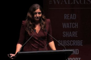 Video still of Kali Taylor from The Walrus Talks Energy