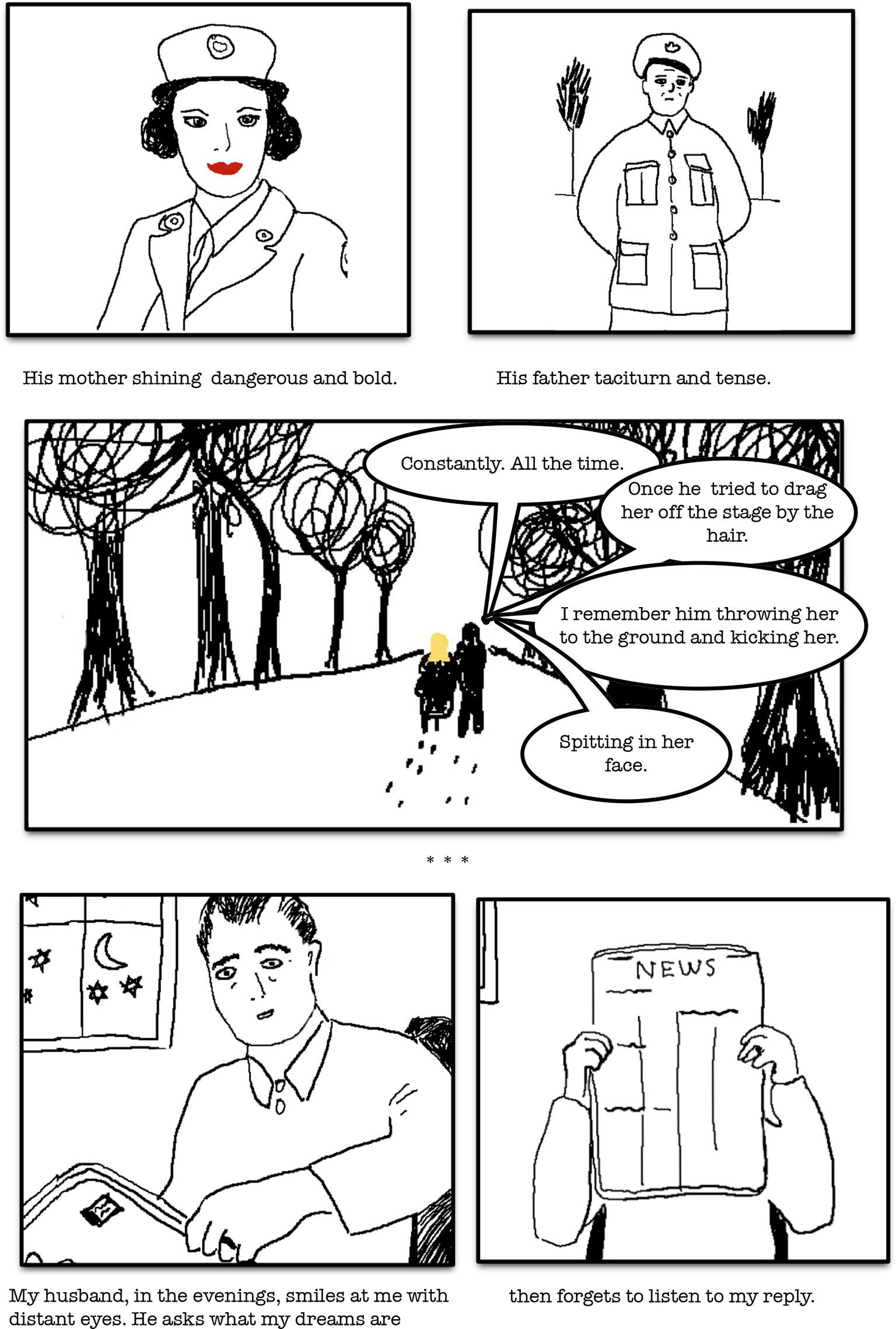 Comic by Velvet Haney