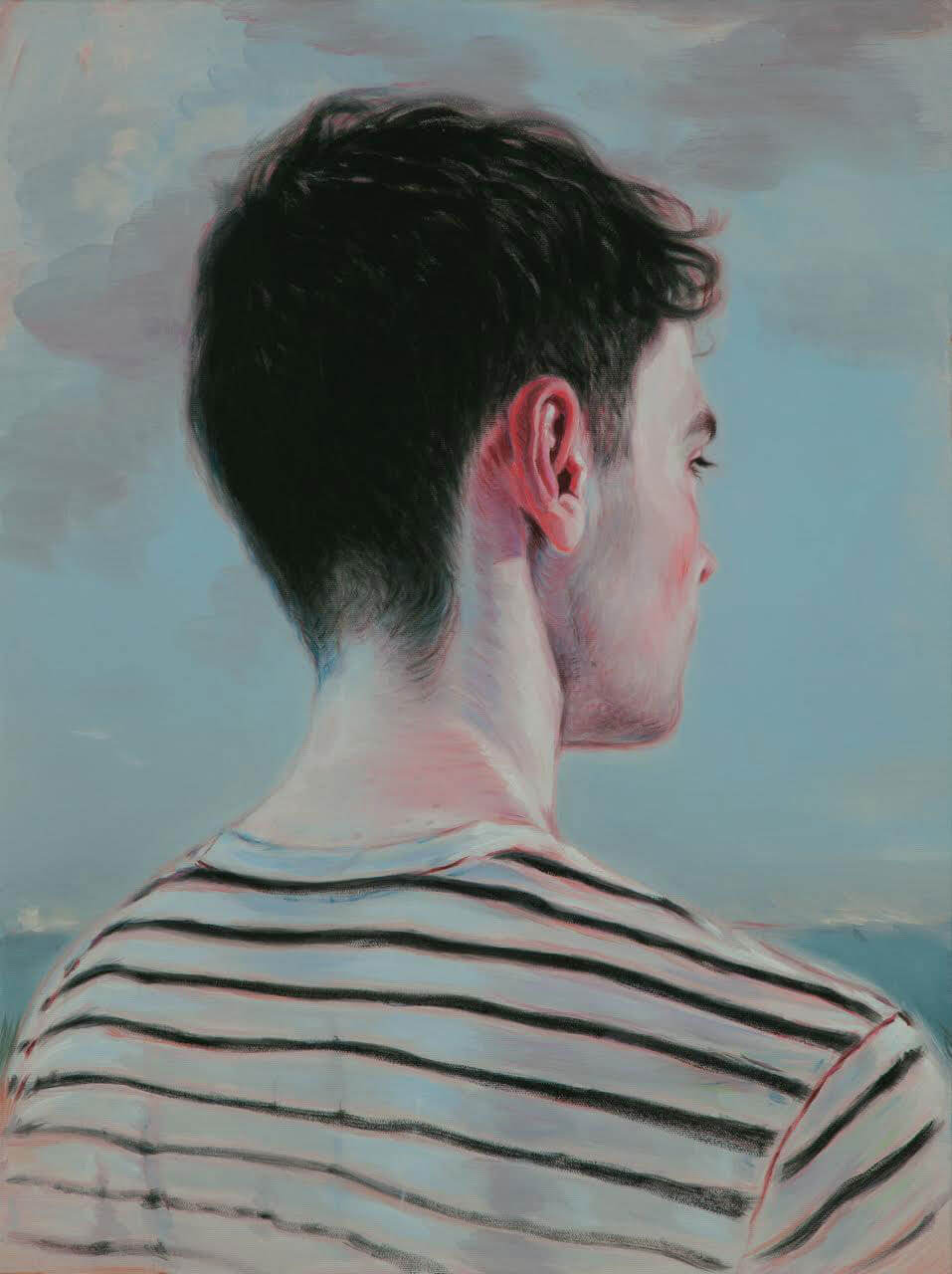 Painting by Kris Knight