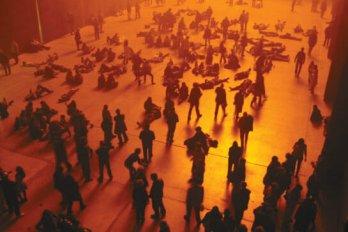 olafur eliasson exhibit at tate modern london