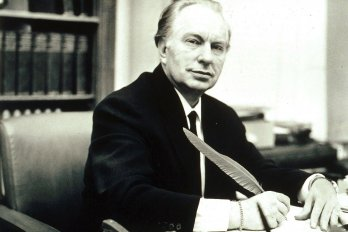 Photograph of L. Ron Hubbard by Rex Features/the Canadian Press