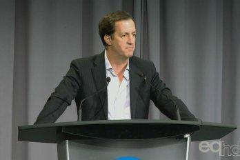 Video still of Andrew Coyne from The Walrus Talks Energy