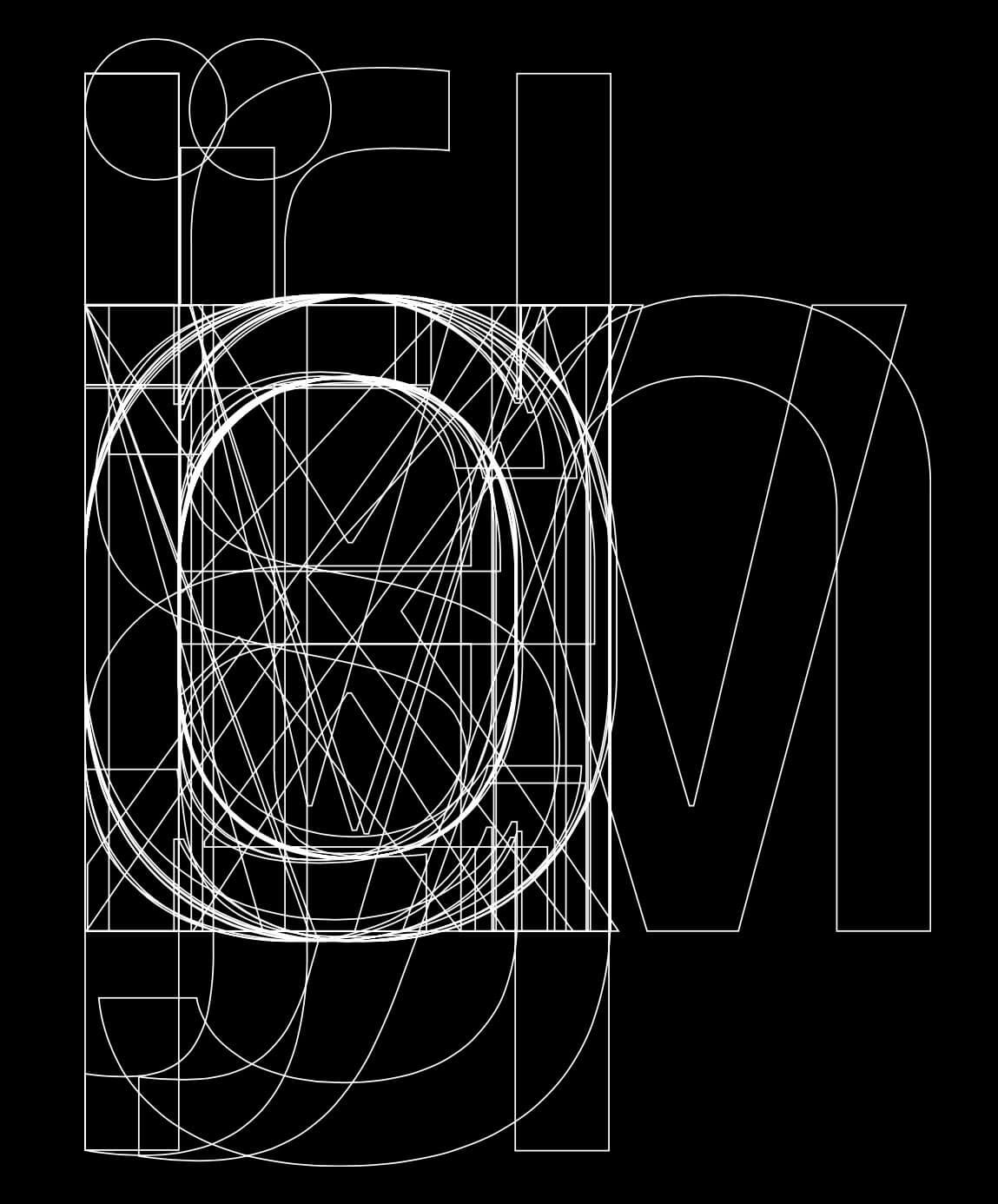 Apple's San Francisco system font (detail)