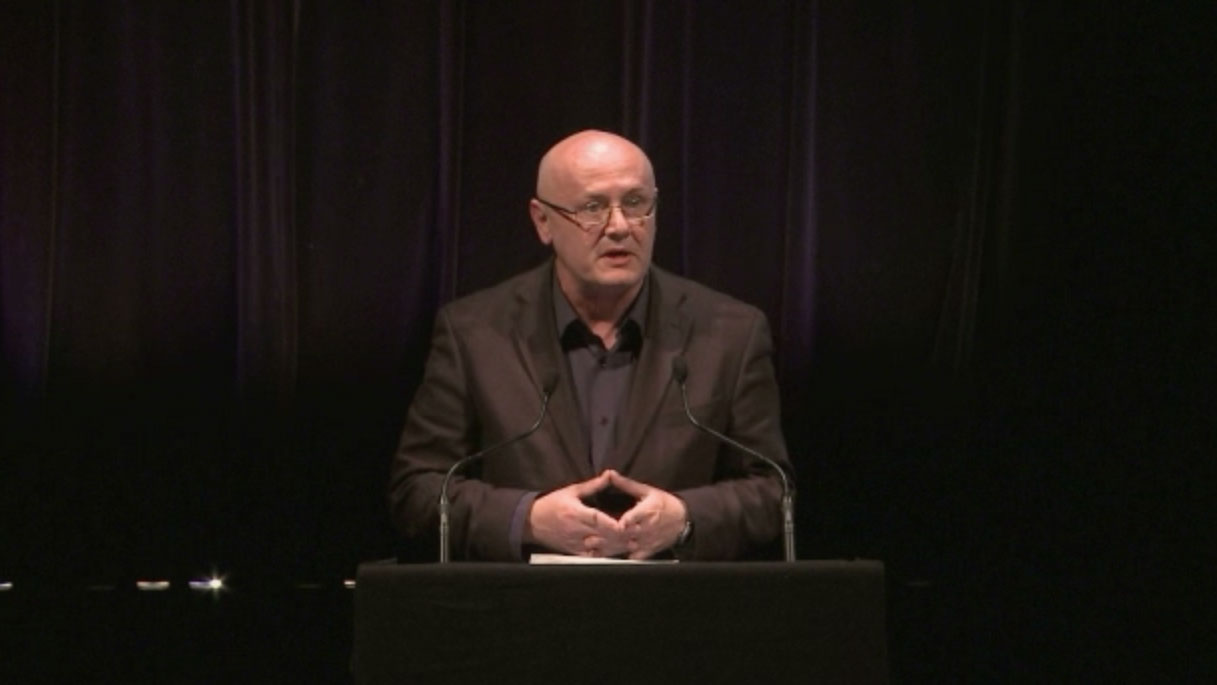 Video still of Will Straw from The Walrus Talks The Art of Cultural Diversity