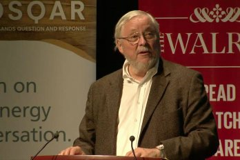 Video Still of Peter Calamai from The Walrus Talks Energy