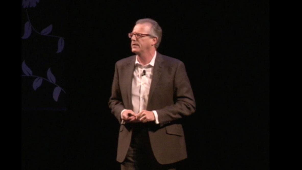 Video Still of Tony Elischer from The Walrus Talks Philanthropy