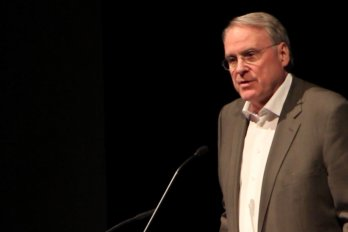 Video still of Ken Dryden from The Walrus Talks Play