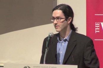 Video still of Damon Matthew from The Walrus Talks Climate