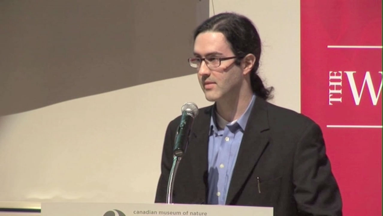 Video still of Damon Matthew from The Walrus Talks Climate