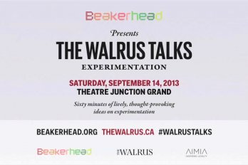 The Walrus Talks Experimentation title image
