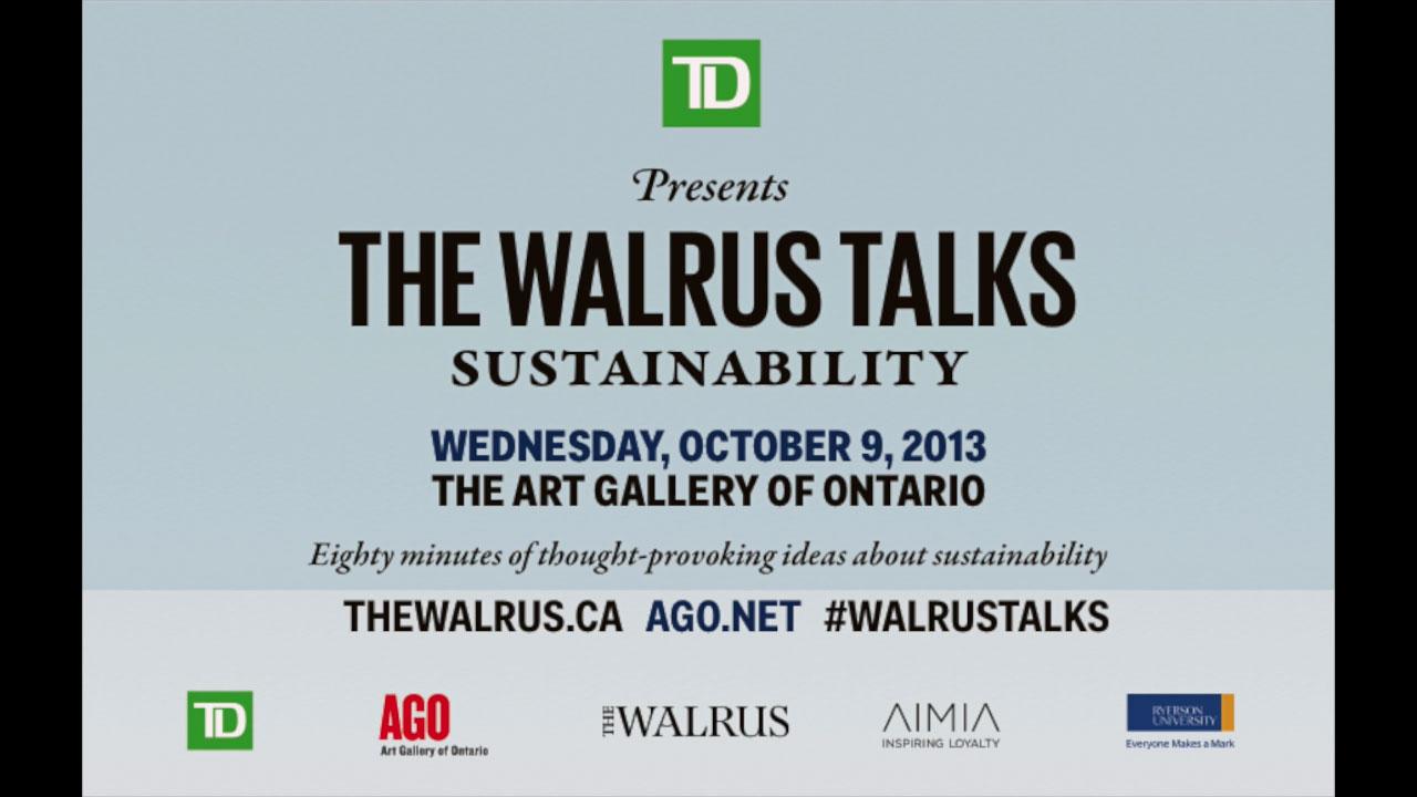 The Walrus Talks Sustainability title image