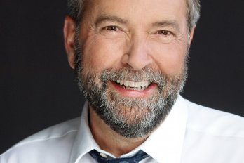 Photograph of Thomas Mulcair courtesy of ndp.ca