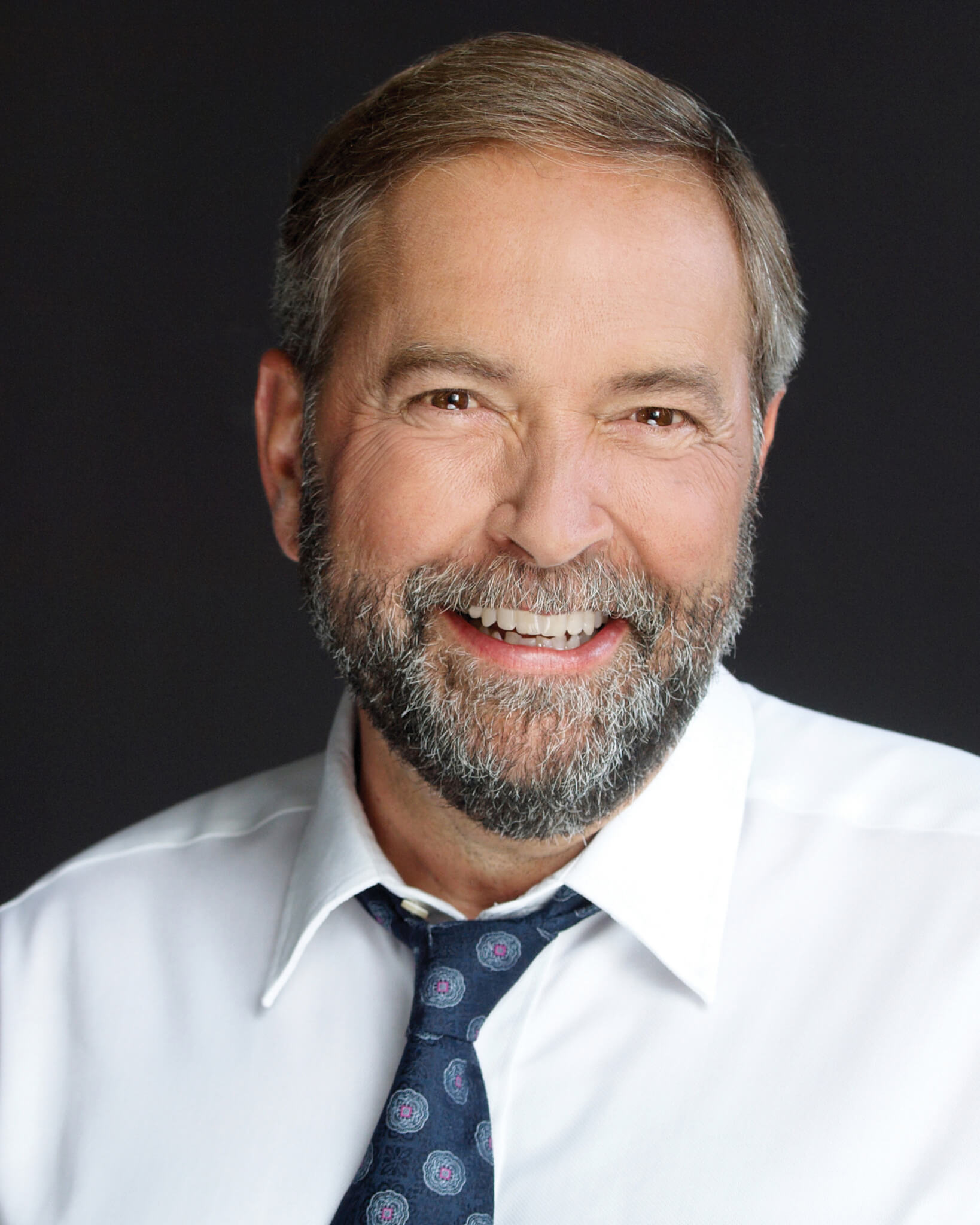 Photograph of Thomas Mulcair courtesy of ndp.ca