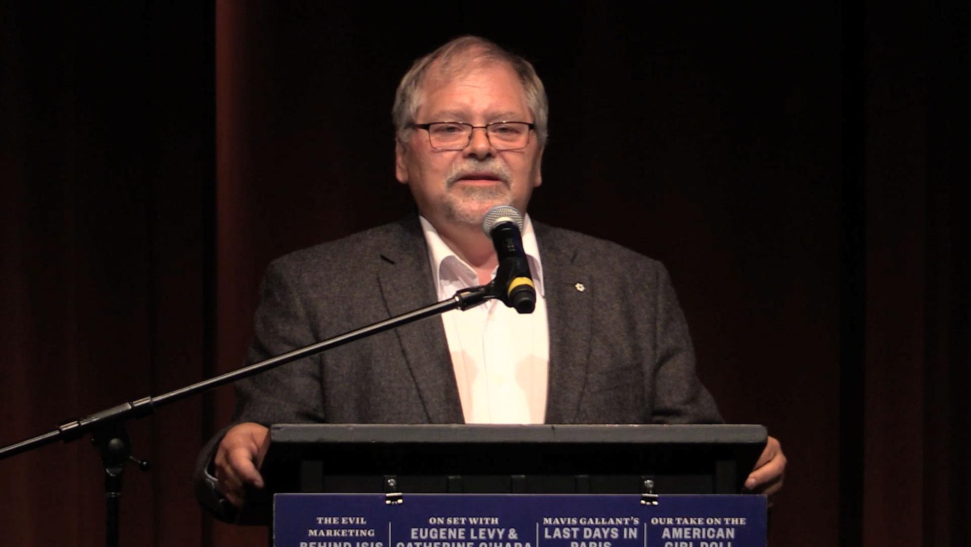 Video still of John Smol from The Walrus Talks Water