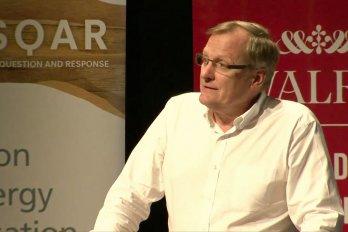 Video still of David Layzell from The Walrus Talks Energy