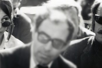 Photograph of Jean-Luc Godard