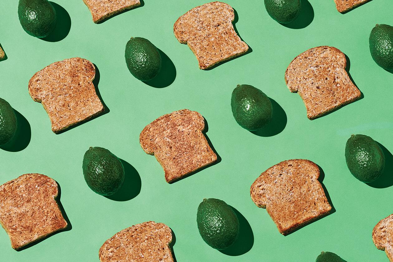 Avocado and toasts