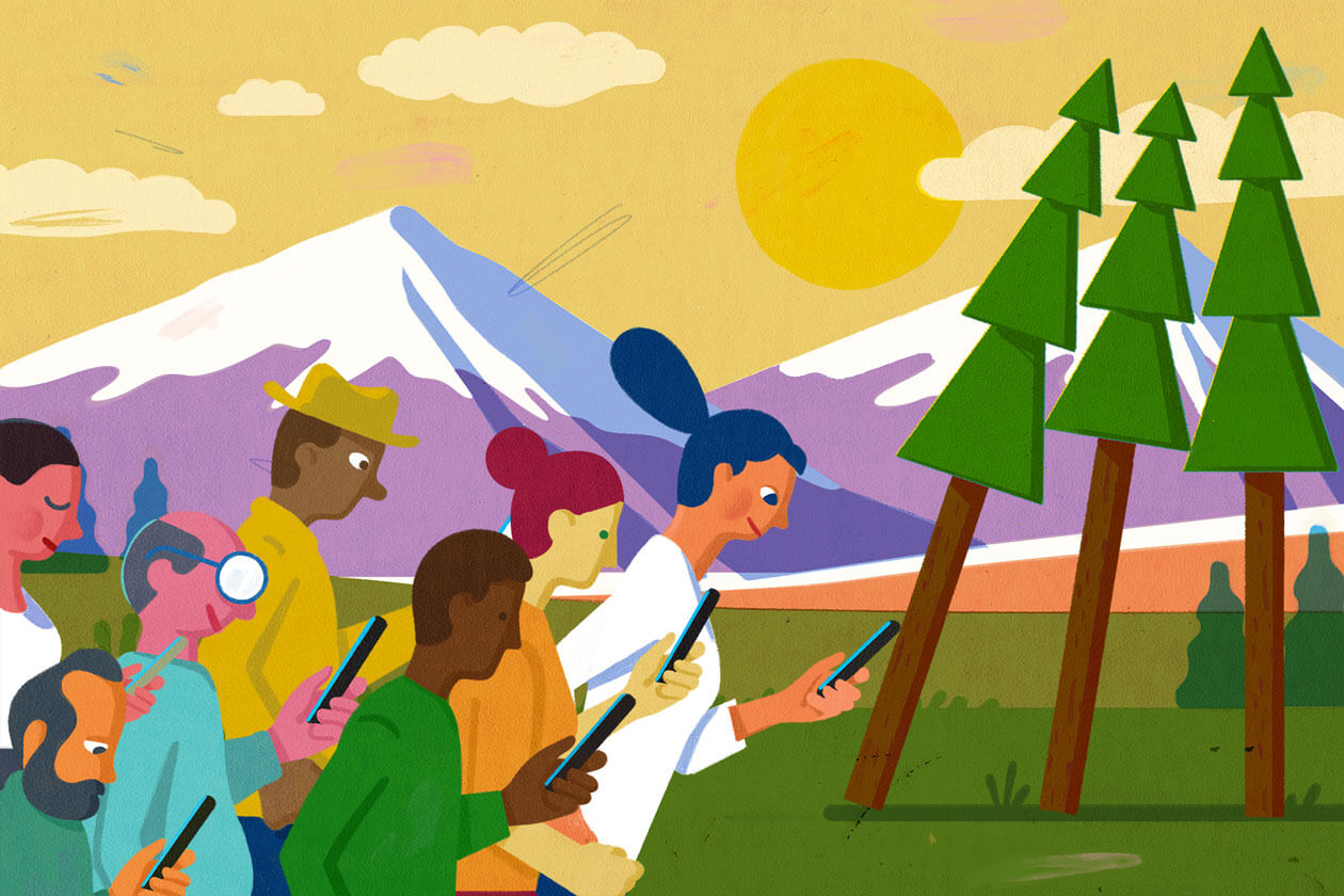 How Selfie Culture Ruins the Great Outdoors for Everyone Else
