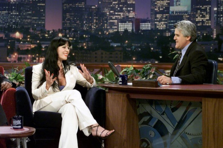 Paul DrProfessional wrestler Chyna and host Jay Leno on June 16, 2000. inkwater/NBC/NBCU Photo Bank via Getty Images