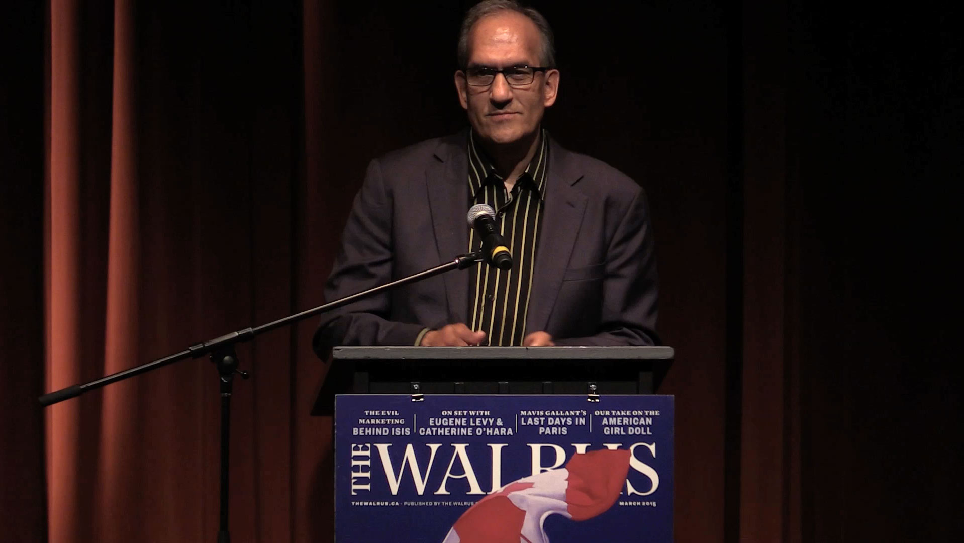Video still of Chris Henderson from The Walrus Talks Water