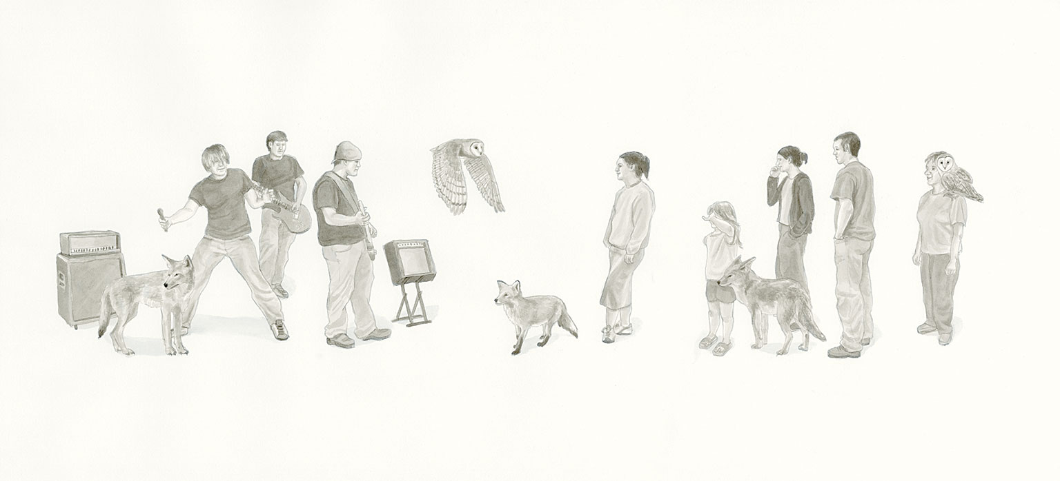 Illustration by Chantal Rousseau