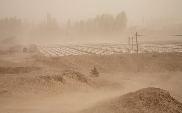 The Chinese Dust Bowl