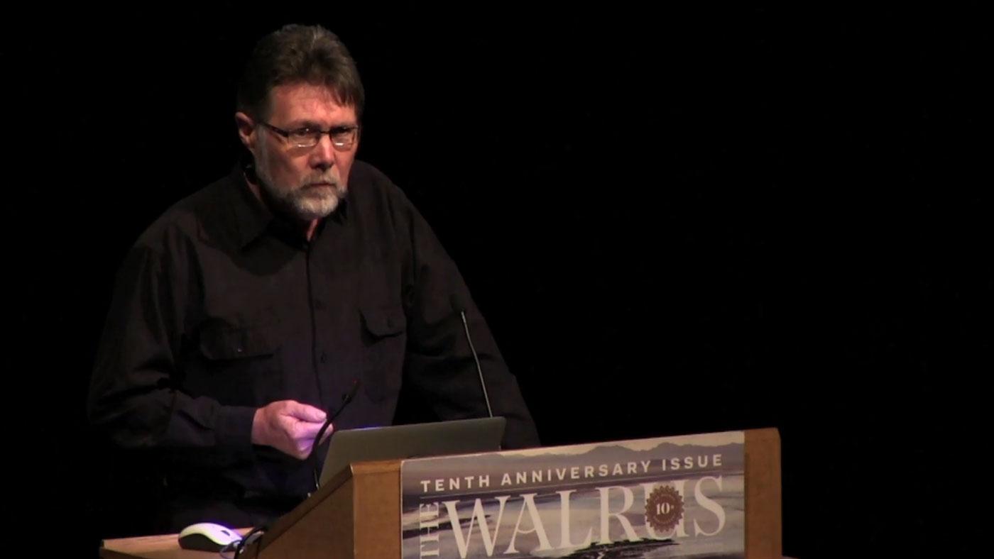 Video still from The Walrus Talks Water (Toronto)