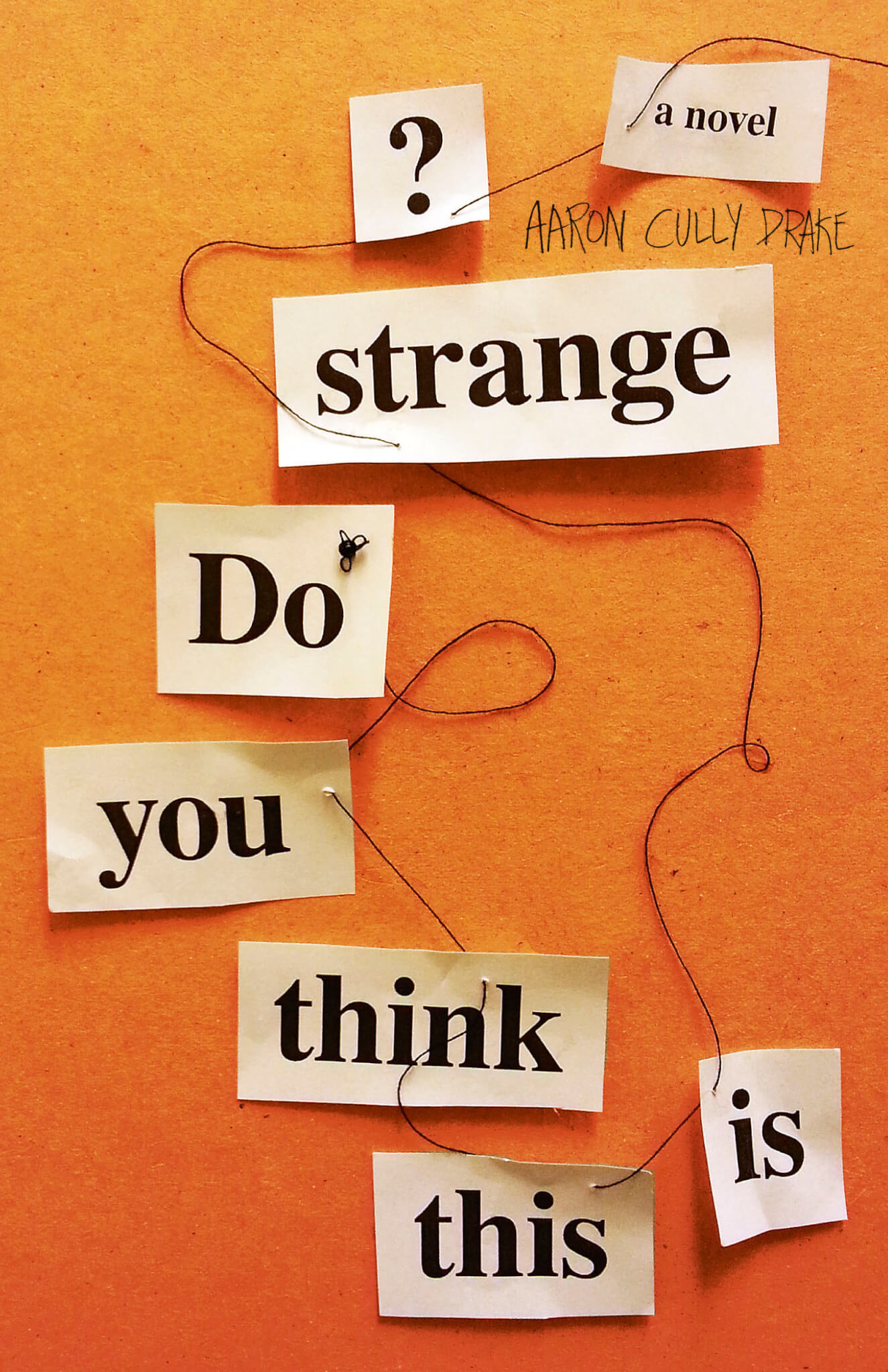 Do You Think This is Strange? book jacket