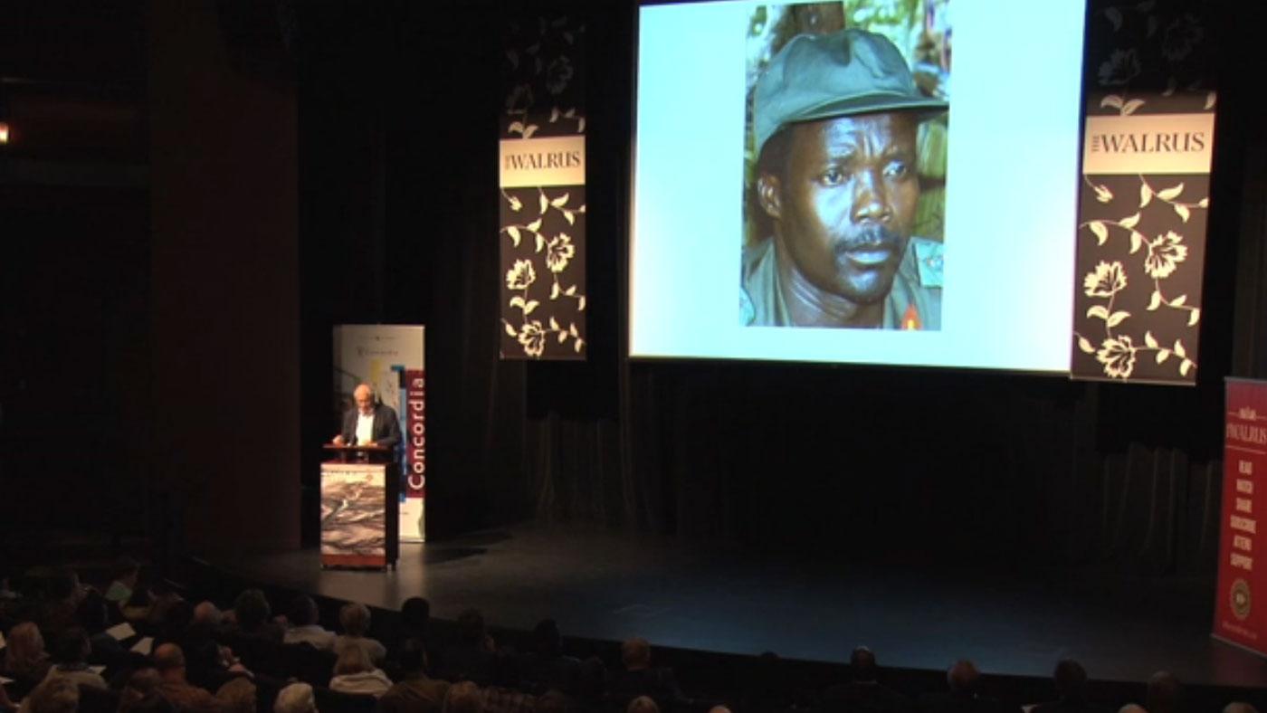 Video still from The Walrus Talks Human Rights