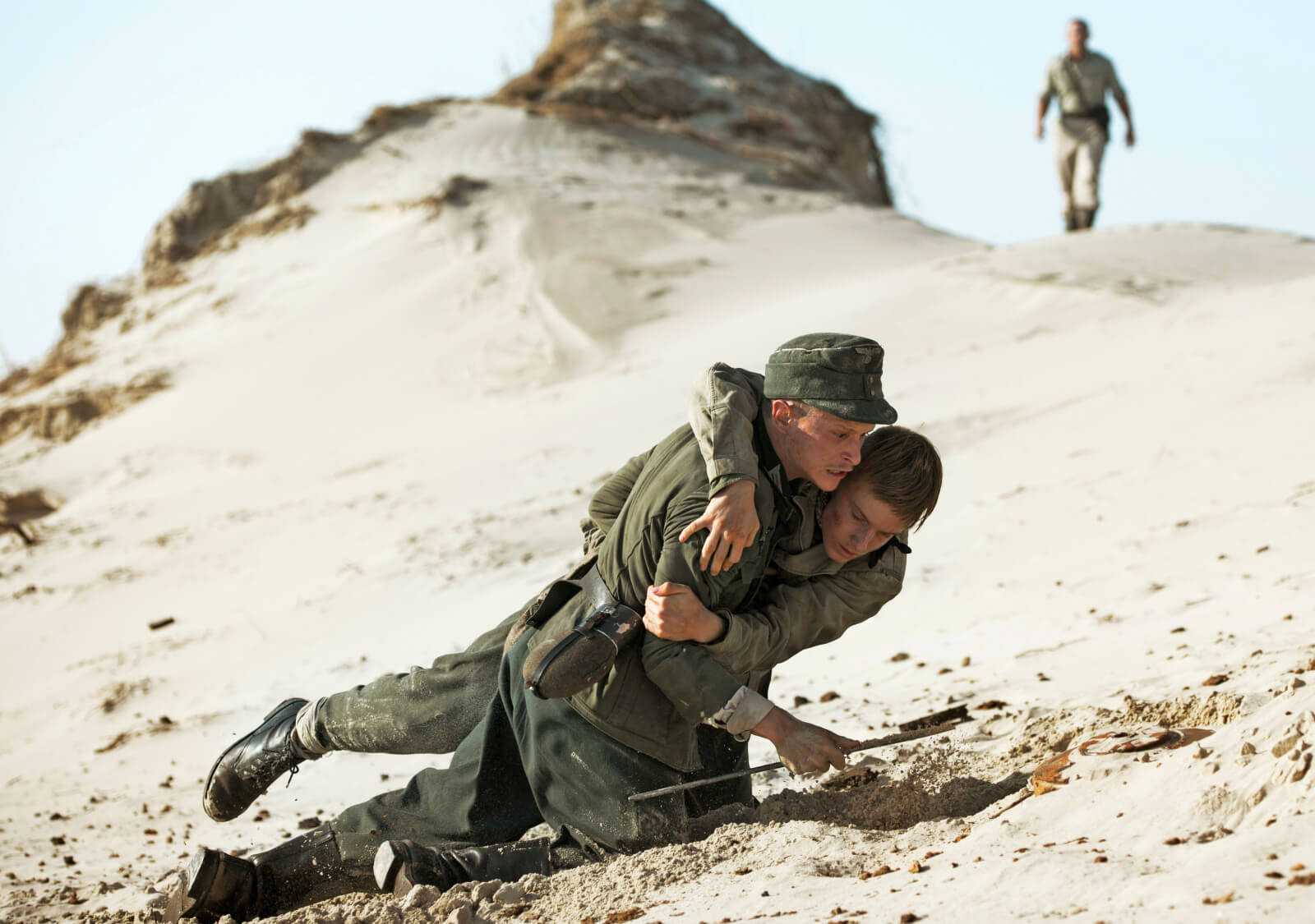 Video still from Land of Mine