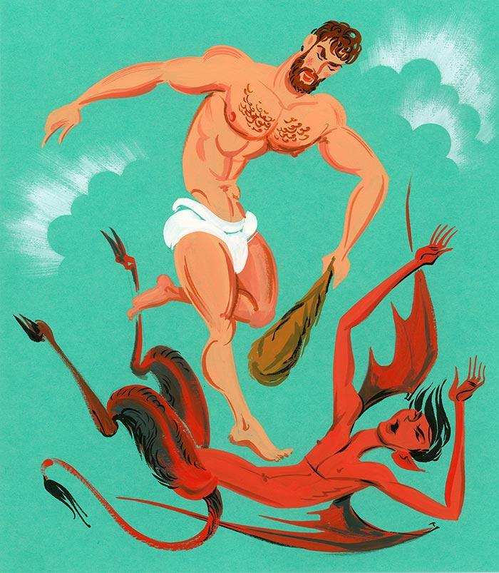 Illustration by Maurice Vellekoop