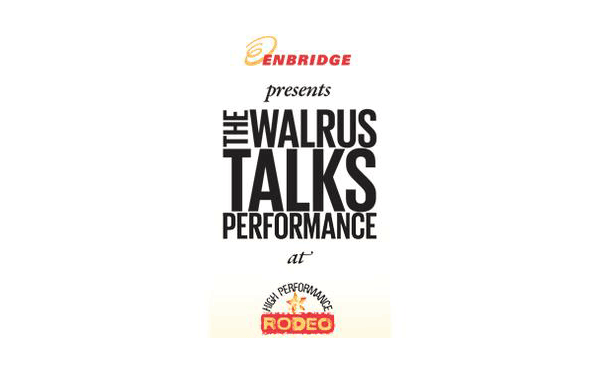 The Walrus Talks Performance
