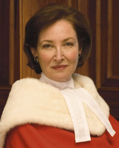Photo of Supreme Court Justice Rosalie Abella