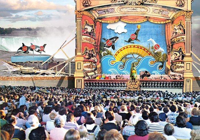 Marineland stage