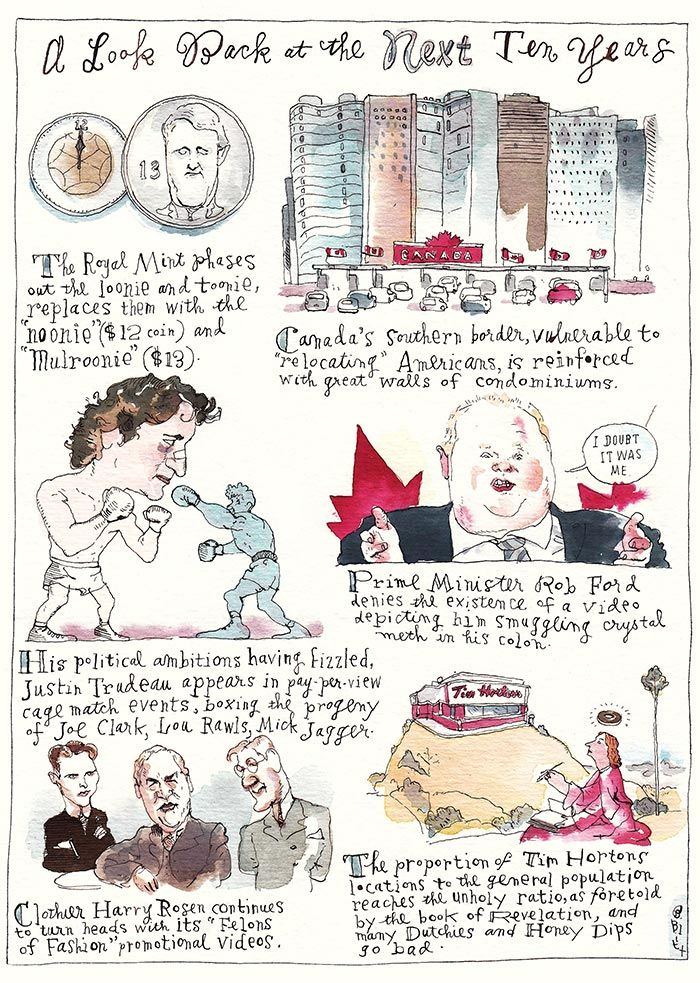 Artwork by Barry Blitt