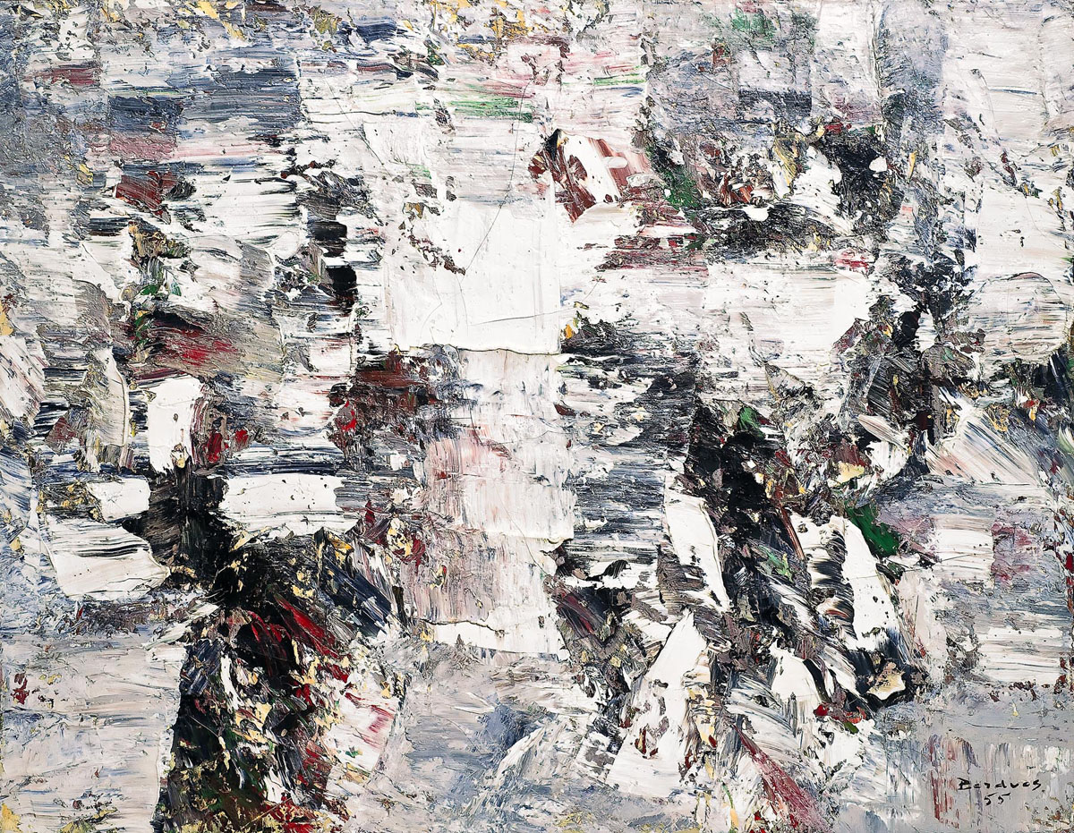 Painting by Paul-Émile Borduas/from the collection of the Winnipeg Art Gallery
