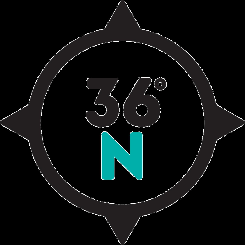 36° North