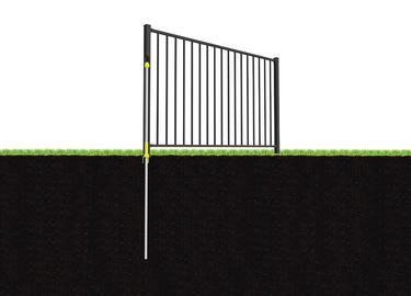 Slim Jim Aluminum Fence Wambam Fence