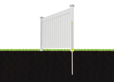 Peeping Tom Vinyl Fence Wambam Fence