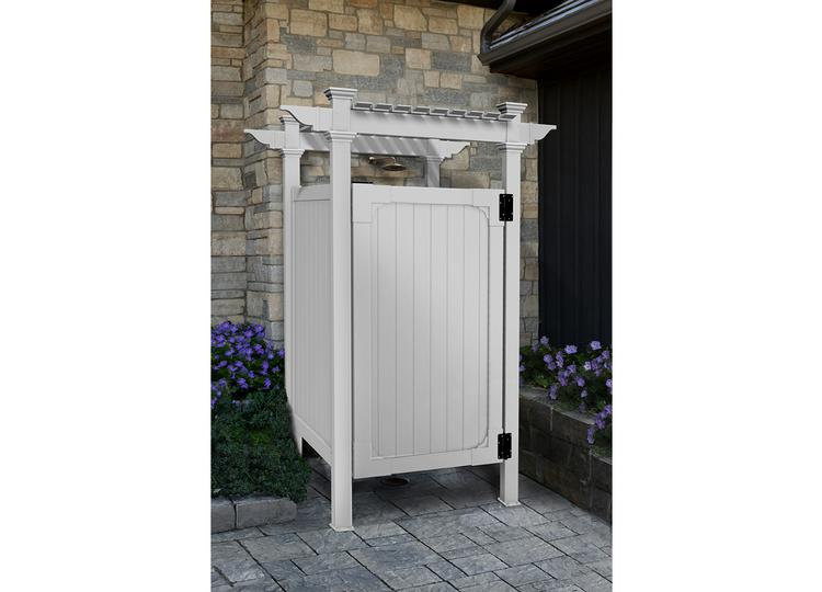 hampton outdoor shower kit