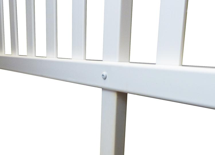 Manchester Vinyl Picket Garden Fence Kit