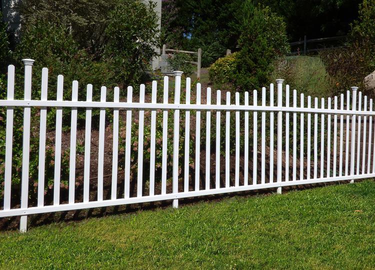 Manchester Vinyl Picket Garden Fence Kit