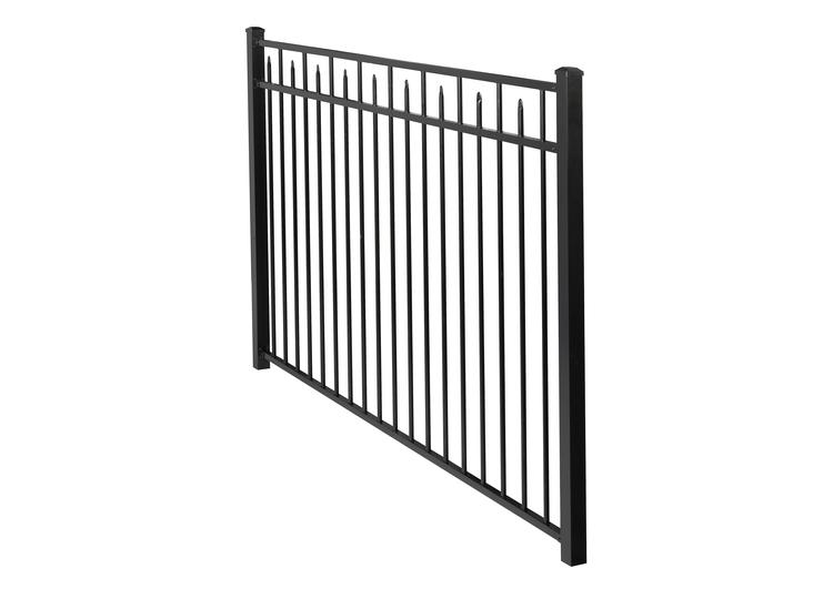 412ft h x 7ft w handy andy aluminum fence