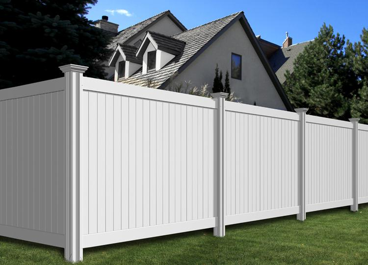 Steady Freddy Vinyl Privacy Fence Wambam Fence