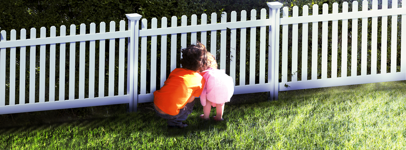 Vinyl Fence and Kids