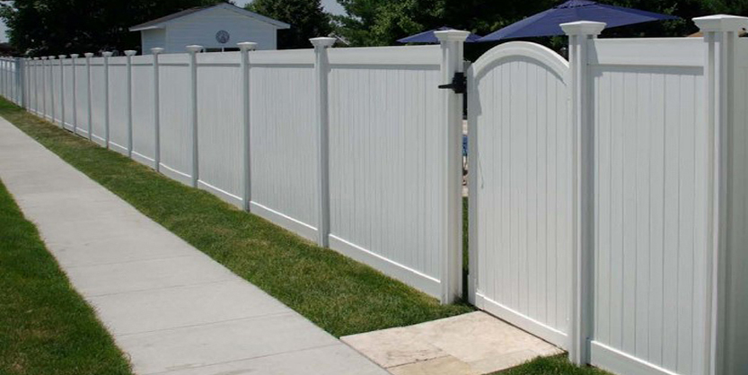 Vinyl Privacy Gate