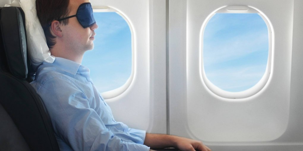 How to sleep on a plane comfortably