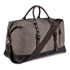 blueboon weekender overnight bag